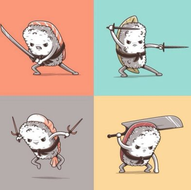 SUSHI WARRIORS © Elia Colombo