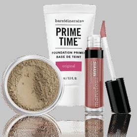 3 Échantillons de Maquillages BareMinerals offerts chez Sephora