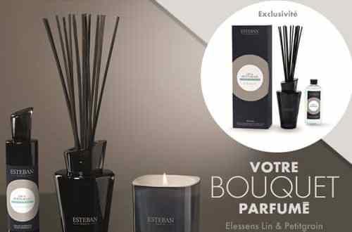 100 Bouquets Parfumés Elessens, Lin & Petitgrain de Esteban à gagner !