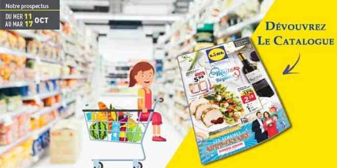 Catalogue Lidl | Promotions du 11 Au 17 Octobre 2017