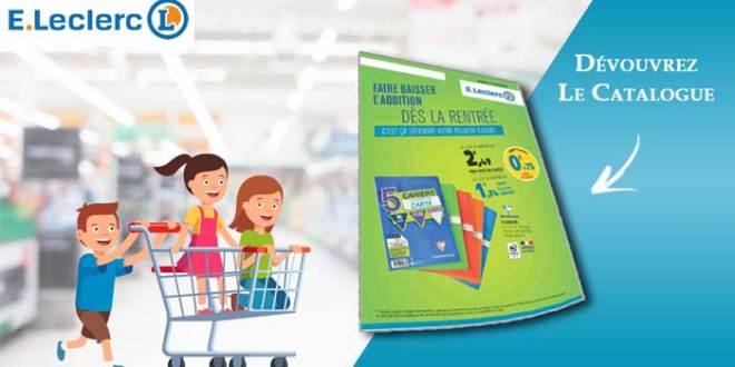 Catalogue E Leclerc Du 7 Août Au 8 Septembre 2018