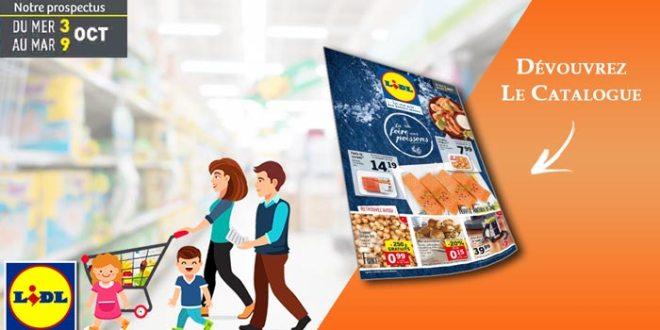 Catalogue Lidl Du 3 Au 9 Octobre 2018