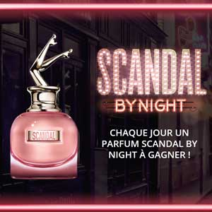Jeu Nocibé 30 parfums Scandal by Night JPG à gagner- Monsieurechantillons.com
