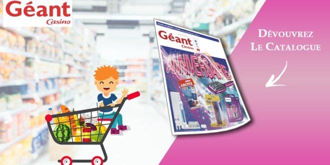 Catalogue Géant Casino Du 8 Au 21 Octobre 2018