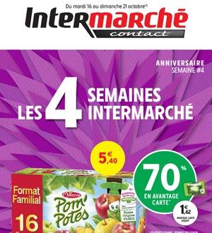 Catalogue Intermarché Contact Du 16 Au 21 Octobre 2018