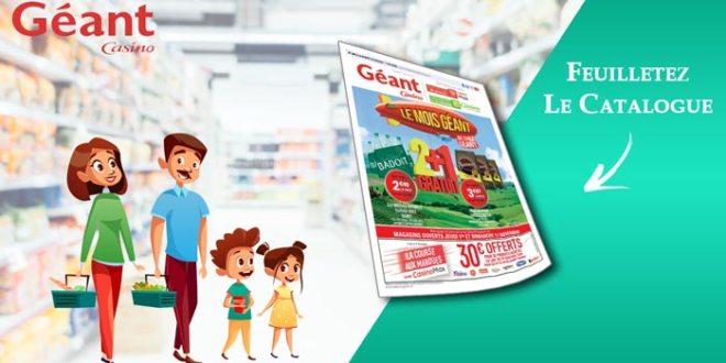 Catalogue Géant Casino Du 30 Octobre Au 11 Novembre 2018