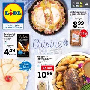 Catalogue Lidl Du 16 Au 22 Janvier 2019