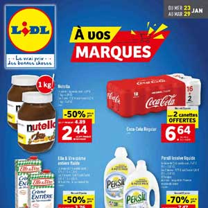 Catalogue Lidl Du 23 Au 29 Janvier 2019