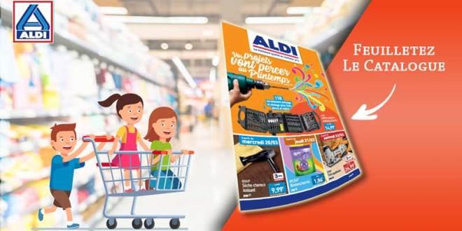 Catalogue Aldi Du 18 Au 24 Mars 2019