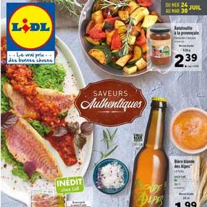 Catalogue Lidl Du 24 Au 30 Juillet 2019
