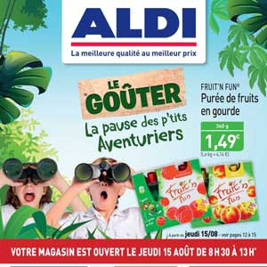 Catalogue Aldi Du 12 Au 18 Août 2019