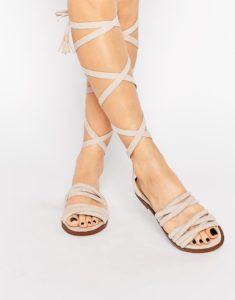 sandales, chaussures, shoes, liens, rubans, asos, public desire, shopping, fashion, mode, tendance