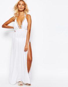 robe de plage, dress, robe, beachwear, asos, fendue, vacances, summer, fashion, tendance