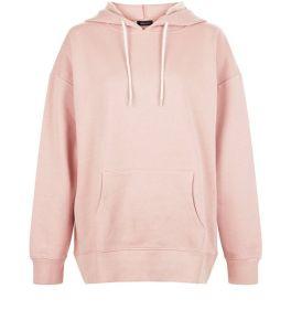 sweat-a-capuche-ample-oversize-rose-poudre