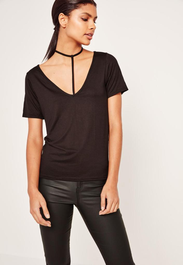 T-shirt harnais MissGuided SOLDES