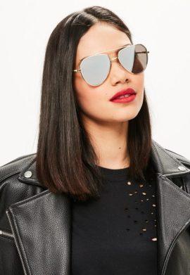 lunettes-de-soleil-dores-style-aviateur