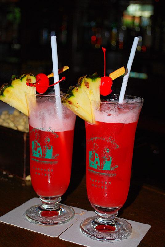 MonsieurMadame cocktail Singapore Sling