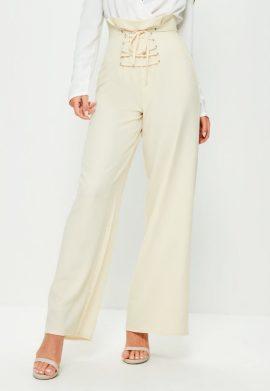 pantalon-large-crme-taille-haute-avec-corset-premium