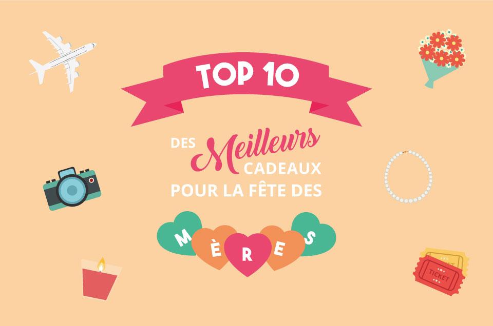 Top 10 : Les meilleurs cadeaux pour la fête des mères