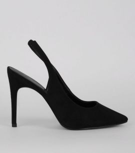 wide-fit-black-suedette-pointed-sling-back-heels