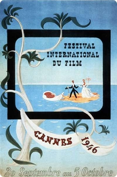 Affiche du festival en 1946; Source: Wikilinks