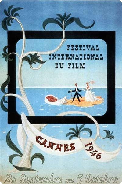 Affiche du festival en 1946; Source: Wikilinks