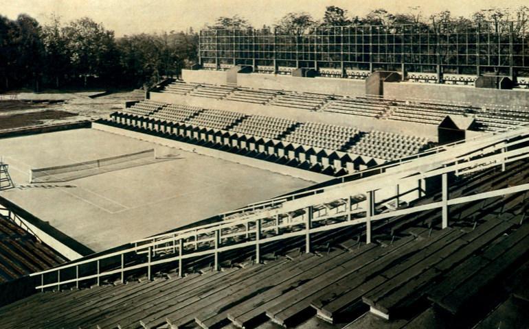 Le stade de Roland-Garros avant la Seconde Guerre Mondiale. Source: Overblog