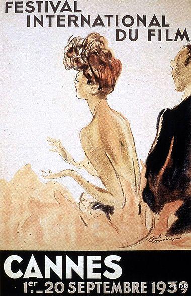 Affiche du premier festival de 1939 ; source: Culture ArtLife