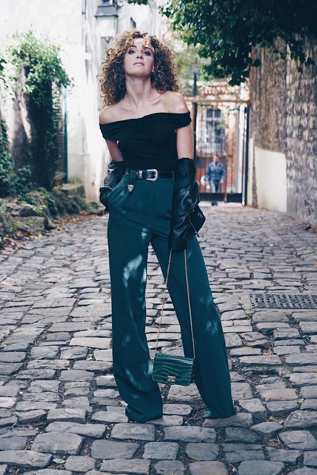 pantalon large nouveau slim