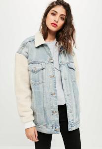 veste-en-jean-bleue-oversize-manches-moumoute
