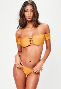 bikini-jaune-col-bateau-dtails-anneaux