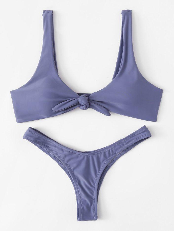 Ensemble bikini bleu