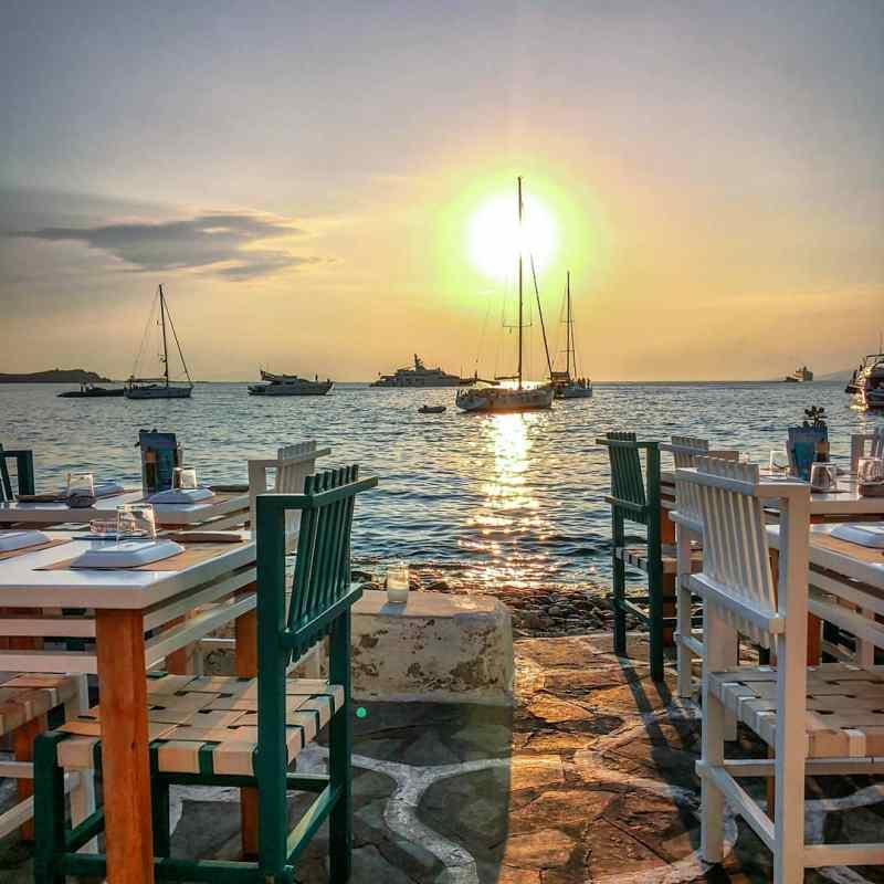 Nic n Easy, mykonos, ile, séjour, vacances, restaurant, cyclades
