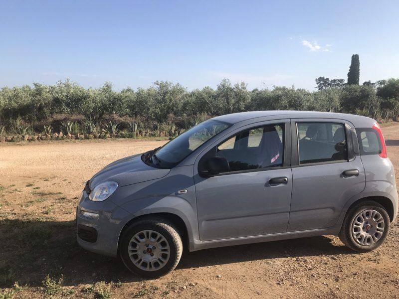 Les Pouilles, Roadtrip en Fiat Panda
