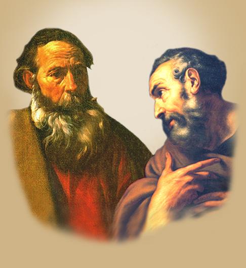 El que actuó en Pedro para hacer de él un apóstol de los circuncisos, actuó también en mí para hacerme para hacerme apóstol de los gentiles. Gál. 2,8