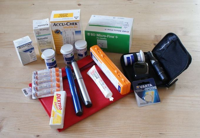 Diabetes Travel Kit