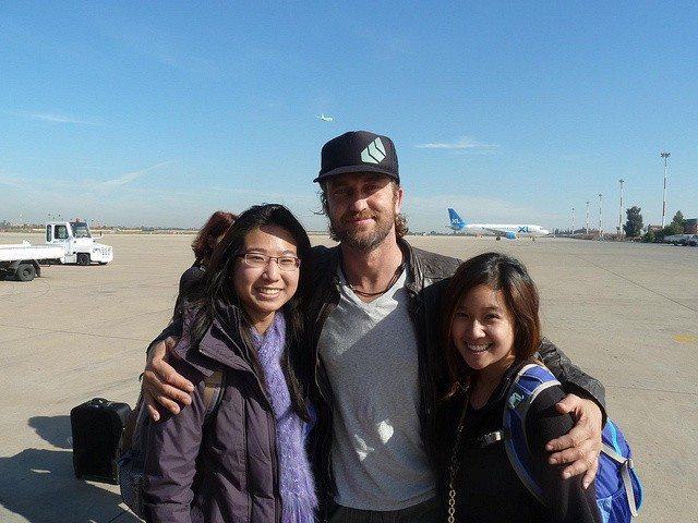 Running Into Gerard Butler…again