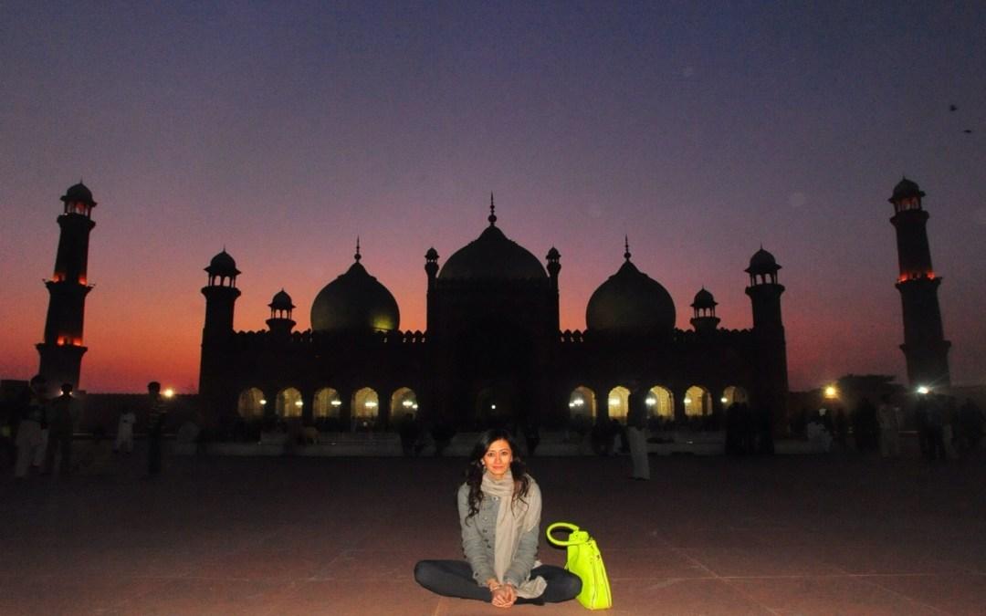 The Badshahi Mosque