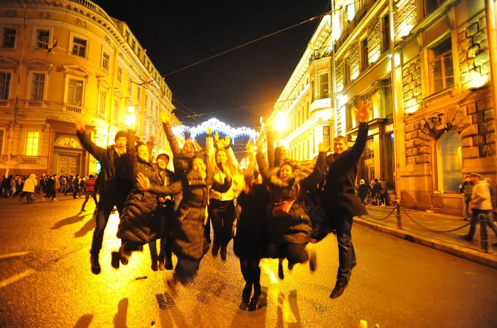 New Year's Eve At Saint Petersburg And The Hermitage