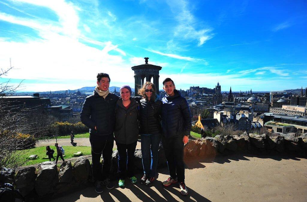 Edinburgh From The Top