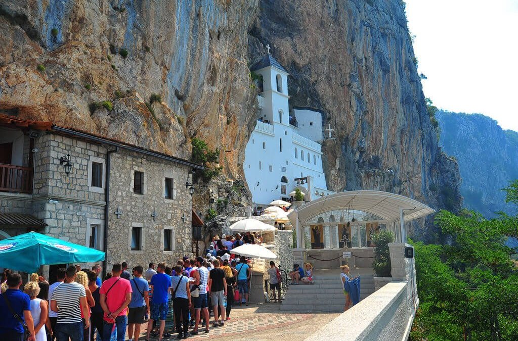 The Pilgrimage To Mount Ostrog Monastery
