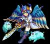 フレイ~勝利の剣を持ち黄金のイノシシに乗る妖精の王、ユングヴィ~