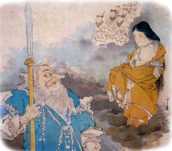 天孫降臨~猿田毘古神【サルタヒコ】と天宇受売命【アメノウズメ】