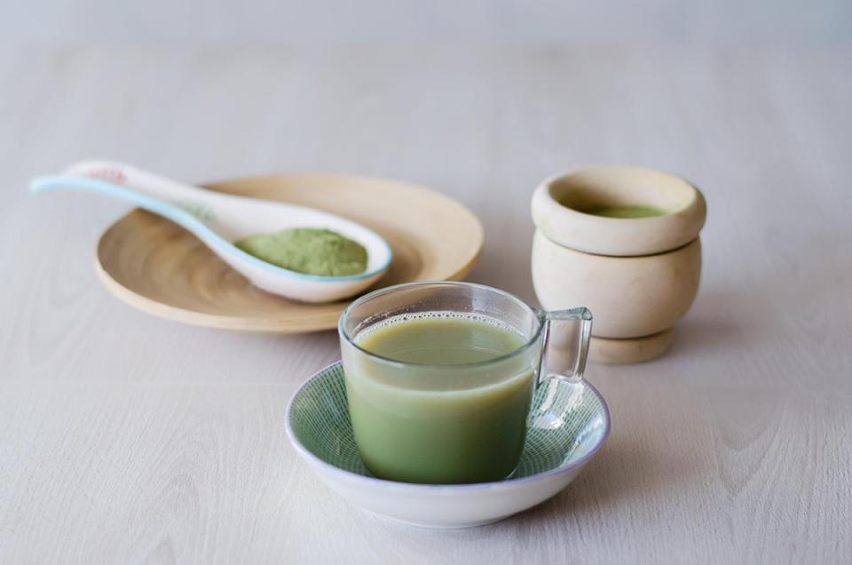 te verde matcha receta propiedades
