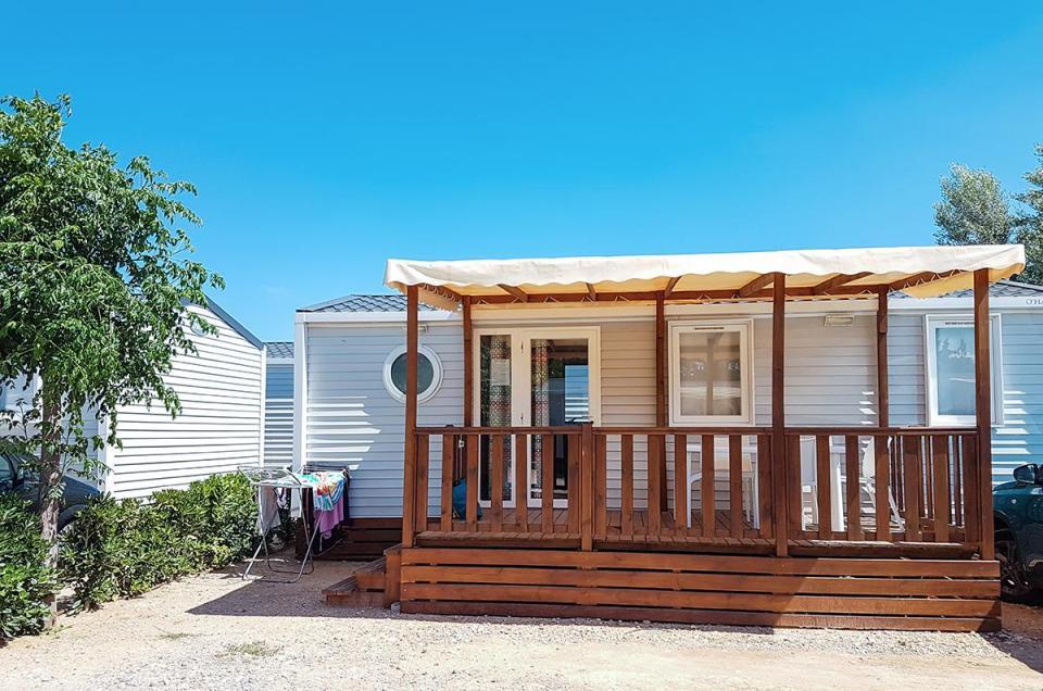 camping ametlla de mar bungalow mobilhome