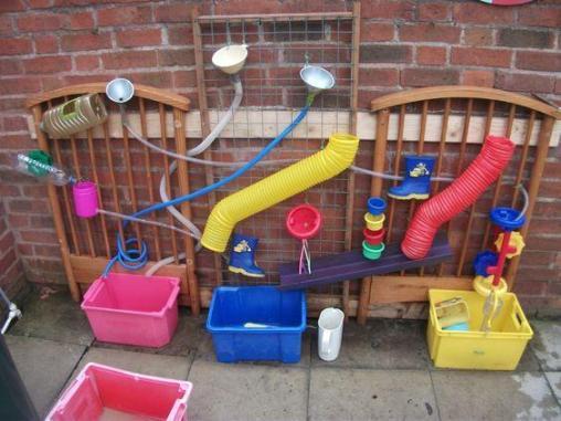 circuito agua actividades verano niños