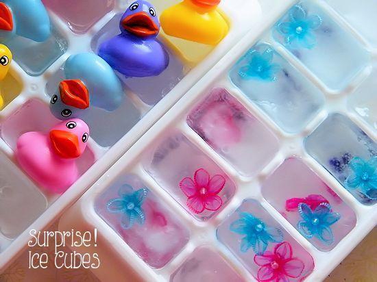 cubitos hielo actividades verano niños