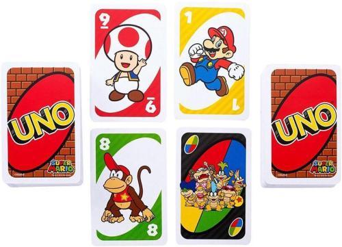 uno juego cartas mesa infantil juguete