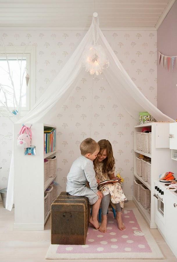 Ideas para crear un rincon de lectura Montessori infantil 13