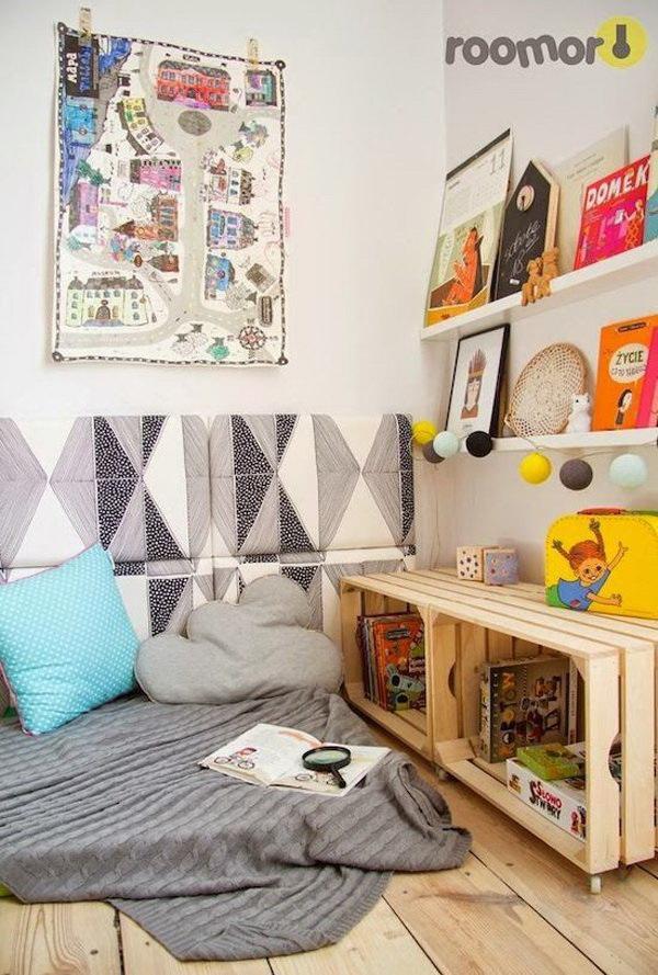 Ideas para crear un rincon de lectura Montessori infantil 5